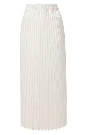 Женская плиссированная юбка NUDE белого цвета, арт. 1103700/SKIRT | Фото 1