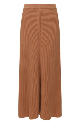 Женская хлопковая юбка JOSEPH коричневого цвета, арт. JF004313 | Фото 1