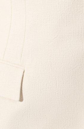 Женский хлопковый жилет JOSEPH кремвого цвета, арт. JP000933 | Фото 5