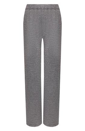 Женские брюки из смеси кашемира и шелка IL BORGO CASHMERE серого цвета, арт. 54-1138C-M0DG0 | Фото 1 (Материал внешний: Шелк, Шерсть, Кашемир; Длина (брюки, джинсы): Стандартные; Статус проверки: Проверена категория; Силуэт Ж (брюки и джинсы): Прямые; Женское Кросс-КТ: Брюки-одежда)