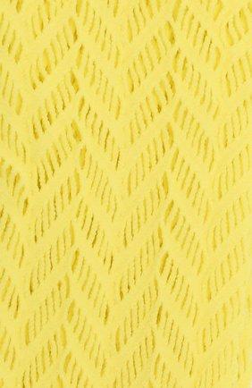 Женские комплект из двух пар носков OROBLU желтого цвета, арт. V0BC66291 | Фото 2