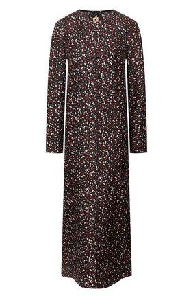 Женское шелковое платье MARNI разноцветного цвета, арт. ABMA0062A3/TSF29 | Фото 1