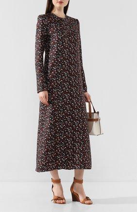 Женское шелковое платье MARNI разноцветного цвета, арт. ABMA0062A3/TSF29 | Фото 2