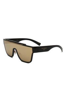 Мужские солнцезащитные очки DOLCE & GABBANA золотого цвета, арт. 6125-501/03 | Фото 1