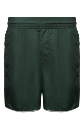 Детского плавки-шорты GUCCI зеленого цвета, арт. 599552/XHABX   Фото 1