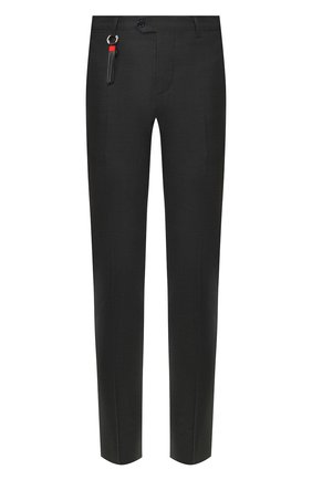Мужской шерстяные брюки MARCO PESCAROLO темно-серого цвета, арт. SLIM80/4160 | Фото 1