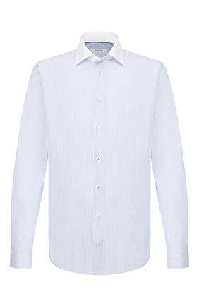 Мужская хлопковая сорочка ETON голубого цвета, арт. 1000 00863 | Фото 1