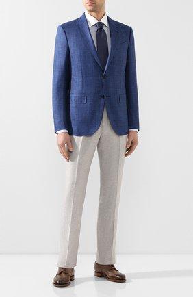 Мужская хлопковая сорочка ETON голубого цвета, арт. 1000 00863 | Фото 2
