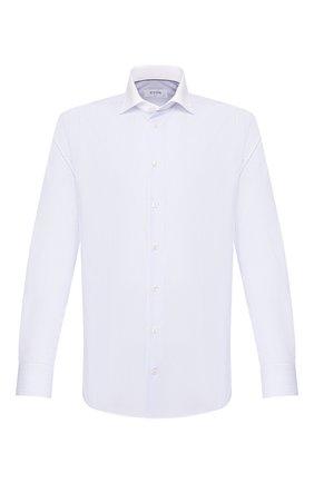 Мужская хлопковая сорочка ETON сиреневого цвета, арт. 1000 00863 | Фото 1