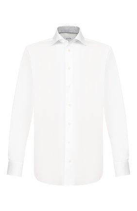 Мужская хлопковая сорочка ETON белого цвета, арт. 1000 01092 | Фото 1