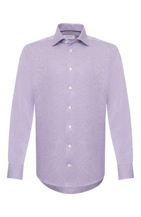 Мужская хлопковая сорочка ETON сиреневого цвета, арт. 3169 79511 | Фото 1
