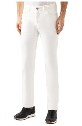 Мужские джинсы BRIONI белого цвета, арт. SPNJ0M/08T01/STELVI0 | Фото 3