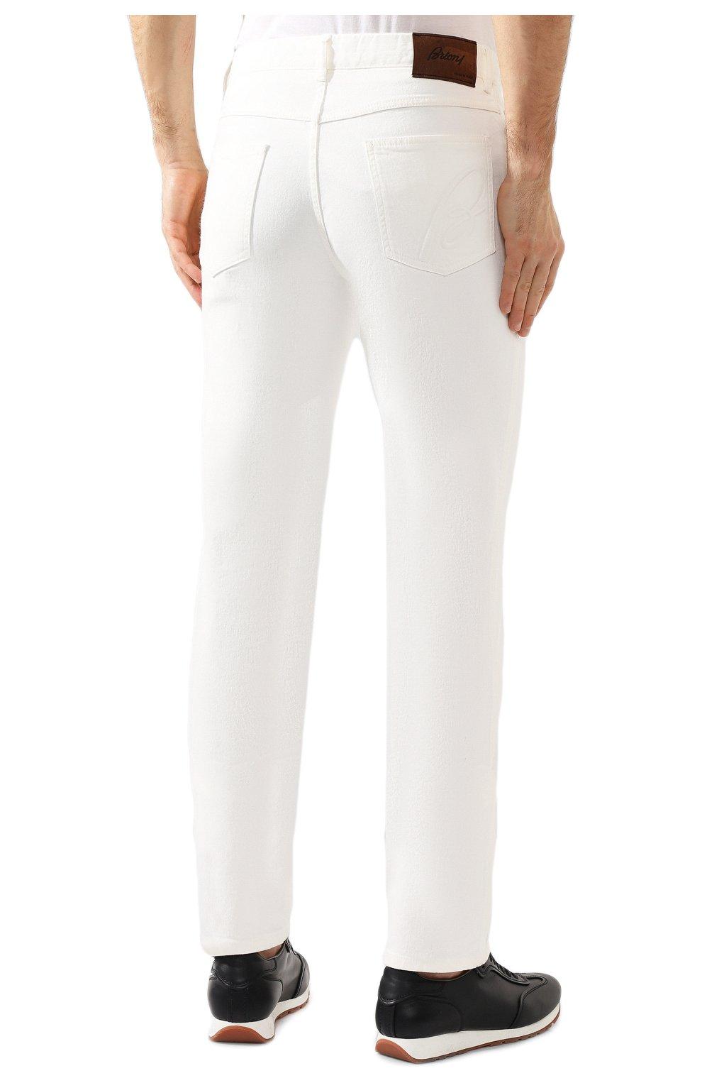 Мужские джинсы BRIONI белого цвета, арт. SPNJ0M/08T01/STELVI0 | Фото 4