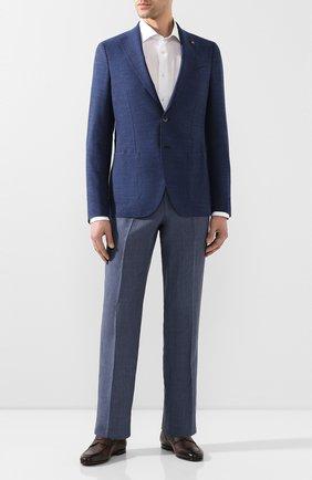 Мужской шерстяной пиджак SARTORIA LATORRE темно-синего цвета, арт. EF74 U70305 | Фото 2
