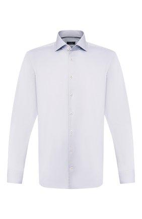 Мужская хлопковая сорочка VAN LAACK серого цвета, арт. TIVARA2-PTF/160872 | Фото 1