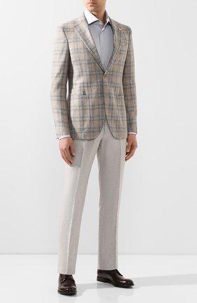 Мужская хлопковая сорочка VAN LAACK серого цвета, арт. TIVARA2-PTF/160872 | Фото 2