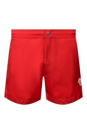 Детского плавки-шорты 2 moncler 1952 MONCLER GENIUS красного цвета, арт. F1-092-2C702-00-53326 | Фото 1