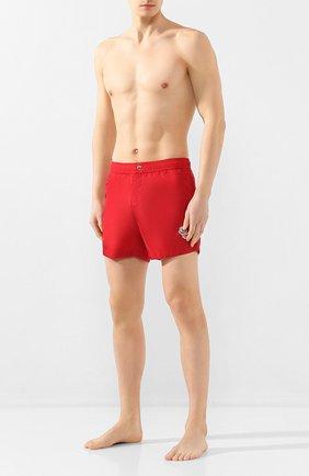 Детского плавки-шорты 2 moncler 1952 MONCLER GENIUS красного цвета, арт. F1-092-2C702-00-53326 | Фото 2