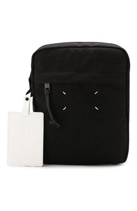 Мужская текстильная сумка MAISON MARGIELA черного цвета, арт. S55WG0056/PR253 | Фото 1