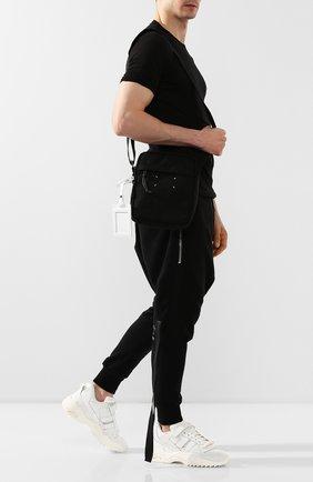 Мужская текстильная сумка MAISON MARGIELA черного цвета, арт. S55WG0056/PR253 | Фото 2