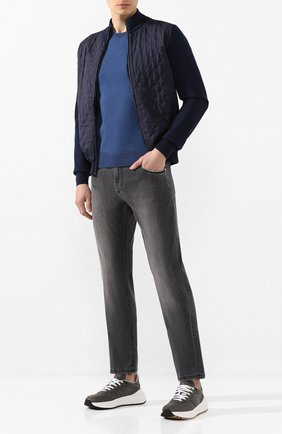 Мужские джинсы ANDREA CAMPAGNA серого цвета, арт. AC302/T43.W245 | Фото 2