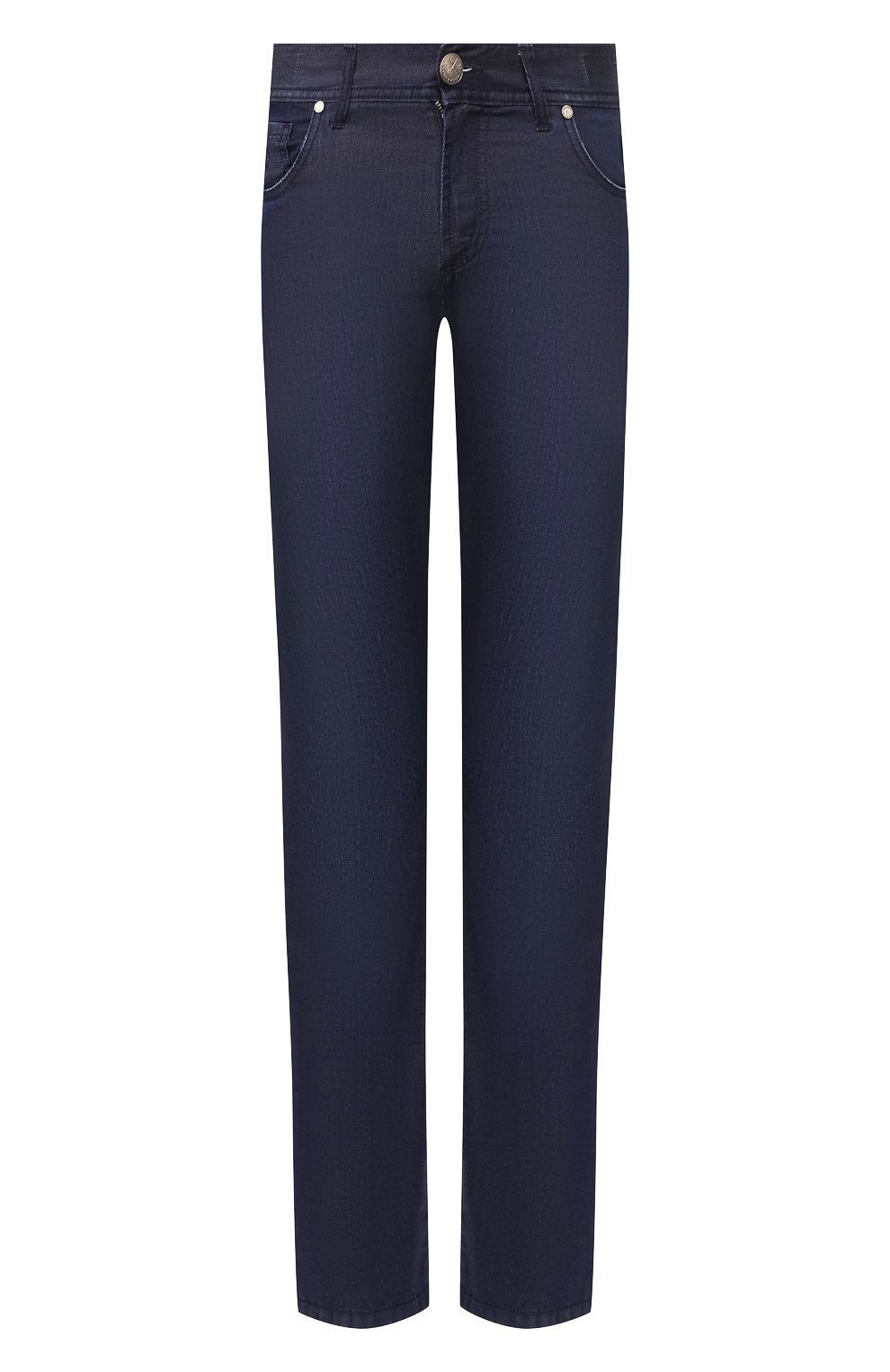 Мужские джинсы ANDREA CAMPAGNA темно-синего цвета, арт. AC302/T84.W248   Фото 1