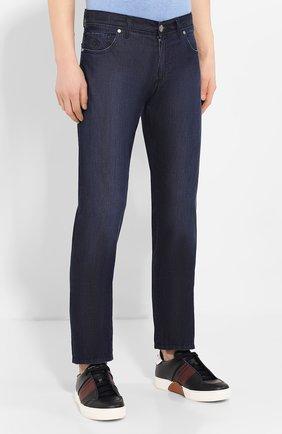 Мужские джинсы ANDREA CAMPAGNA темно-синего цвета, арт. AC302/T84.W248   Фото 3