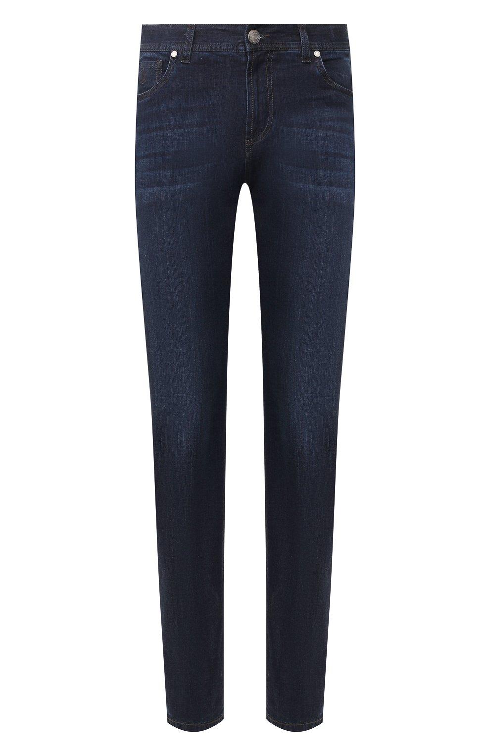 Мужские джинсы ANDREA CAMPAGNA темно-синего цвета, арт. AC402/T42.W242 | Фото 1