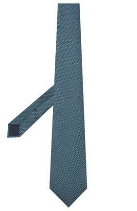 Мужской шелковый галстук CORNELIANI зеленого цвета, арт. 85U302-0120320/00 | Фото 2