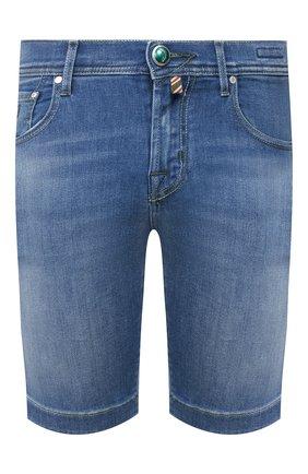 Мужские джинсовые шорты JACOB COHEN голубого цвета, арт. J6636 C0MF 01855-W2/53 | Фото 1