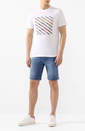Мужские джинсовые шорты JACOB COHEN голубого цвета, арт. J6636 C0MF 01855-W2/53 | Фото 2