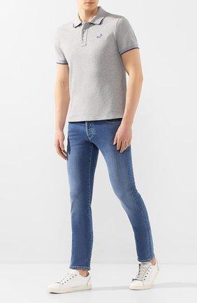 Мужские джинсы JACOB COHEN голубого цвета, арт. J622 C0MF 01850-W3/53 | Фото 2
