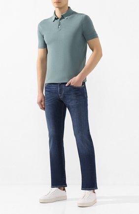 Мужские джинсы JACOB COHEN темно-синего цвета, арт. J620 LIMITED C0MF 08792-W1/53 | Фото 2