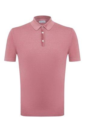 Мужское хлопковое поло JACOB COHEN розового цвета, арт. J4004 01478-V/53 | Фото 1