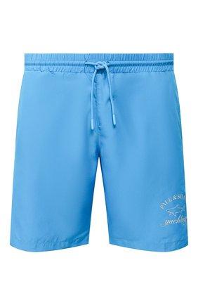 Детского плавки-шорты PAUL&SHARK голубого цвета, арт. E20P5046/3XL-6XL | Фото 1