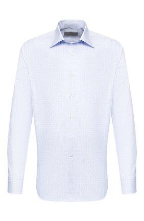Мужская хлопковая сорочка CANALI голубого цвета, арт. 705/GD01554/S | Фото 1