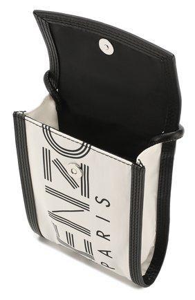Мужского чехол для iphone KENZO белого цвета, арт. FA55PM208F24 | Фото 3