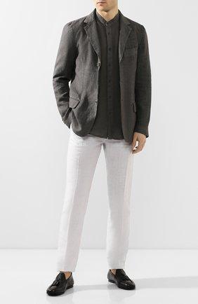 Мужские кожаные лоферы SILVANO SASSETTI черного цвета, арт. S19960X414BCABUNER. | Фото 2