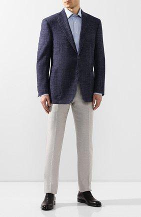 Мужские кожаные оксфорды ERMENEGILDO ZEGNA черного цвета, арт. A4385X-LHNAX | Фото 2
