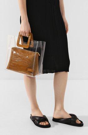 Женская сумка shirley  STAUD коричневого цвета, арт. 18-9013 | Фото 2