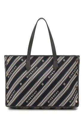 Женская сумка-тоут bond medium GIVENCHY синего цвета, арт. BB50AVB0S0 | Фото 1