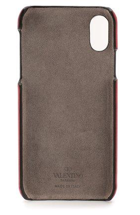 Мужской чехол valentino garavani для iphone x/xs VALENTINO красного цвета, арт. TW2P0S87/DRT | Фото 2