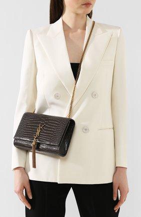 Женская сумка kate medium SAINT LAURENT темно-серого цвета, арт. 354119/DND0W | Фото 2