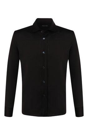 Мужская рубашка TOM FORD черного цвета, арт. BU248/TFJ941 | Фото 1