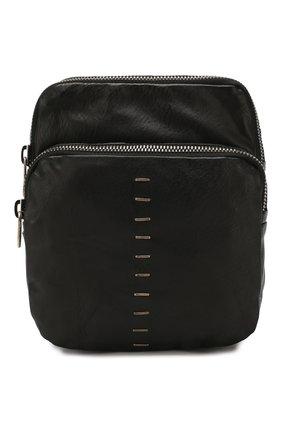 Мужская кожаная сумка DANIELE BASTA черного цвета, арт. DB691X17GR/DAREN GR | Фото 1