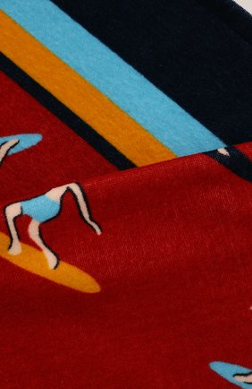 Мужские хлопковое полотенце DOLCE & GABBANA красного цвета, арт. M0A00T/FI7JJ | Фото 2