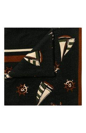 Мужские хлопковое полотенце DOLCE & GABBANA темно-зеленого цвета, арт. M0A00T/FI7JI | Фото 1