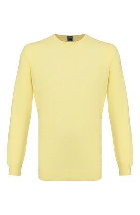 Мужской кашемировый джемпер FEDELI желтого цвета, арт. 3UEB5901 | Фото 1