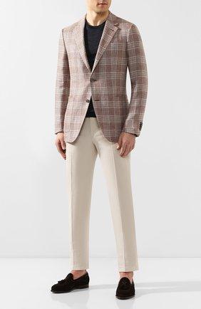 Пиджак из смеси льна и шерсти | Фото №2