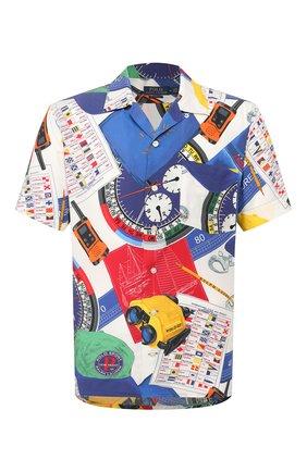 Мужская рубашка из вискозы POLO RALPH LAUREN разноцветного цвета, арт. 710791966/4758 | Фото 1
